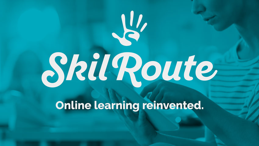 SkilRoute Logo Screen