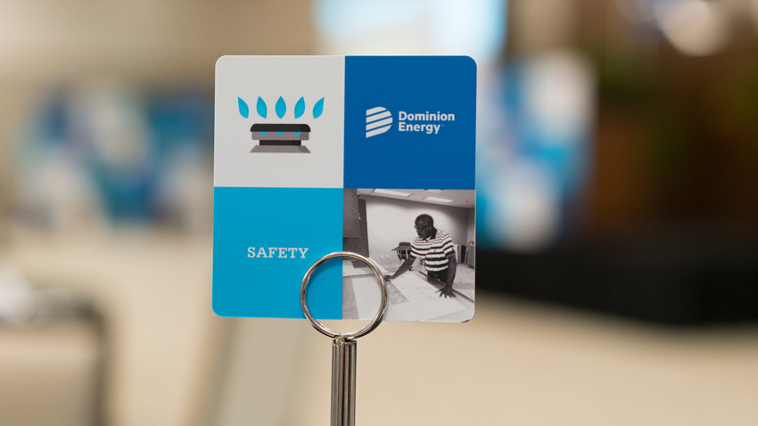 Dominion Energy Table Marker
