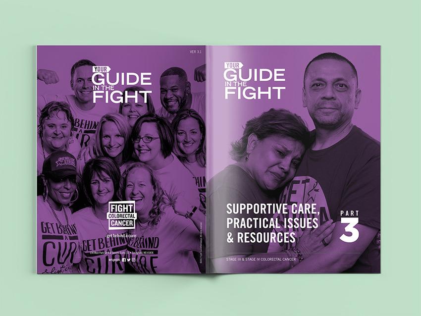 Guide in the Fight Spread 5